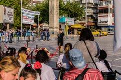 伤残了悟星期艺术和民间舞事件-土耳其 免版税库存照片