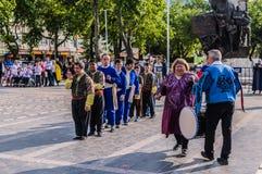 伤残了悟星期艺术和民间舞事件-土耳其 图库摄影