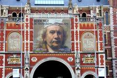 伦勃朗・范Rijn在Rijksmuseum,阿姆斯特丹,荷兰的陈列 免版税库存图片