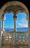 贝伦塔阳台  库存照片