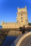 贝伦塔- Torre De贝拉母在里斯本 免版税库存照片