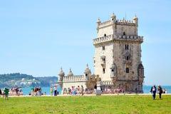 贝伦塔- Torre de贝拉母 免版税库存图片