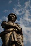 伦布兰特雕象 免版税库存图片