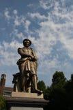 伦布兰特雕象 库存照片