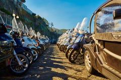 索伦托是其中一个阿马尔菲海岸的镇 库存图片