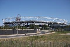 伦敦体育场看法  免版税库存照片