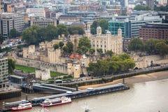 伦敦全景塔 库存照片