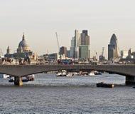 伦敦全景 库存照片