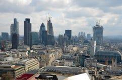 伦敦全景 免版税库存照片