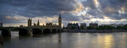 伦敦全景 库存图片
