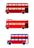 伦敦公共汽车。 库存照片