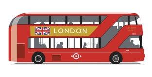 伦敦公共汽车新的Routemaster类型 免版税库存图片
