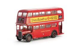 伦敦公共汽车 免版税库存图片