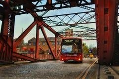 伦敦公共汽车 库存照片