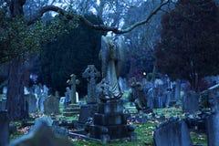 伦敦公墓 库存照片