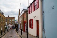 伦敦典型的街道 库存图片