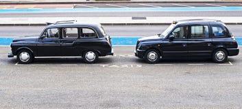 伦敦出租汽车 免版税库存图片