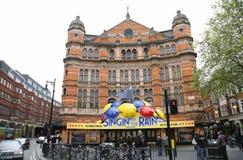 伦敦剧院,宫殿剧院 图库摄影