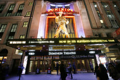 伦敦剧院,统治剧院 免版税库存图片