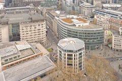 伦敦办公楼 库存照片