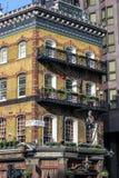 伦敦历史建筑 老伦敦 免版税库存图片
