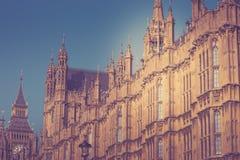 伦敦历史建筑dettails远距照相 库存照片