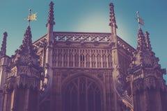 伦敦历史建筑dettails远距照相 免版税库存图片