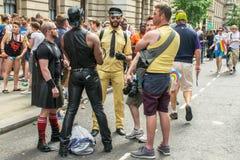 伦敦同性恋自豪日 免版税图库摄影