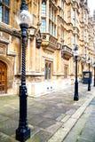 伦敦和摘要墙壁的欧洲  库存照片