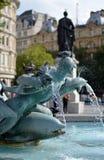 伦敦喷泉 库存照片