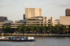 伦敦国家戏院 免版税库存图片