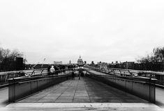 伦敦圣保罗的大教堂 免版税库存图片
