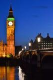 伦敦在晚上 免版税库存照片