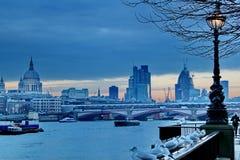 伦敦日落 图库摄影