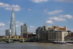 伦敦地平线看法与偶象大厦的 库存图片