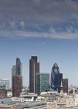 伦敦地平线,英国 库存照片