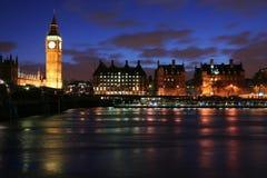 伦敦地平线 免版税库存图片