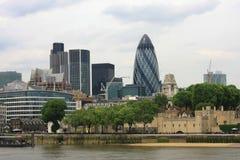 伦敦地平线 库存图片