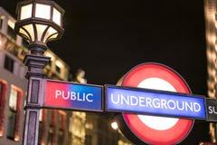 伦敦地铁驻地伦敦英国 图库摄影