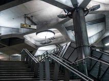 伦敦地铁01 免版税库存照片