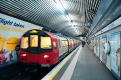 伦敦地铁 库存图片