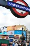 伦敦场面。 免版税库存照片