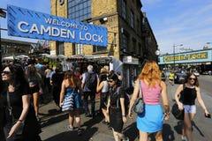 伦敦坎登市场 免版税库存照片