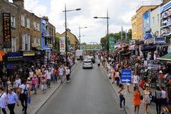 伦敦坎登市场 库存照片