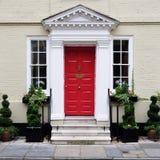 伦敦城内住宅 免版税库存图片