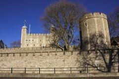 伦敦塔前面 库存图片