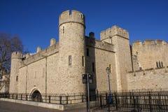 伦敦塔前面 免版税库存照片