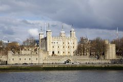 伦敦塔和奸贼门 库存图片