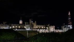 伦敦塔和碎片 免版税库存照片
