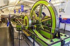 伦敦塔桥梁机械 免版税图库摄影